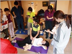 日本妊産婦整体協会セミナー